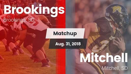 Football Game Recap: Brookings vs  Mitchell - MaxPreps