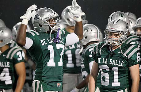 De La Salle is projected to win its playoff game against Amador Valley on Friday.