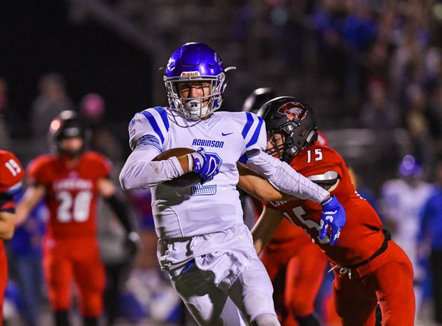 Robinson's Brandon Ashcraft led the state in receiving yards and was tied for tops in touchdowns.