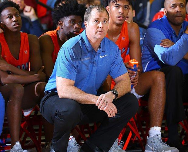 Head coach Grant Rice