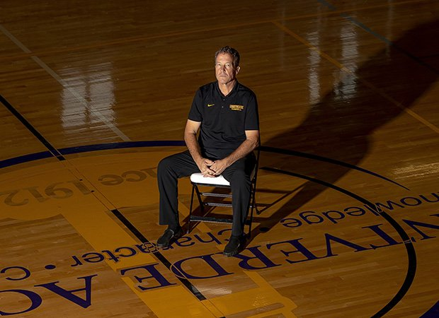 Head coach Kevin Boyle