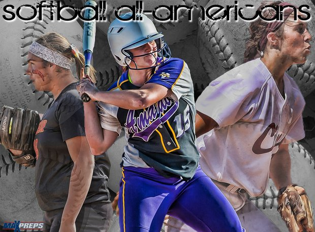 The MaxPreps 2014 All-American Softball Team.