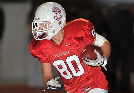 An additional 25 pounds has turned Chaparral's Mitchell Parsons into a national-caliber tight end.