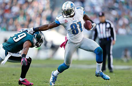 Calvin Johnson of the Detroit Lions went to Sandy Creek High.