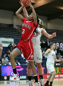 St. Mary's sophomore Mikayla Cowling.