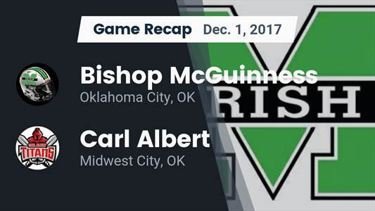 Football Game Preview: Bishop McGuinness vs. Northwest Classen