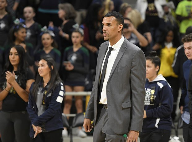 First-year Chino Hills coach Dennis Latimore was very composed following the Huskies' Southern California Division 1 title win on Saturday.