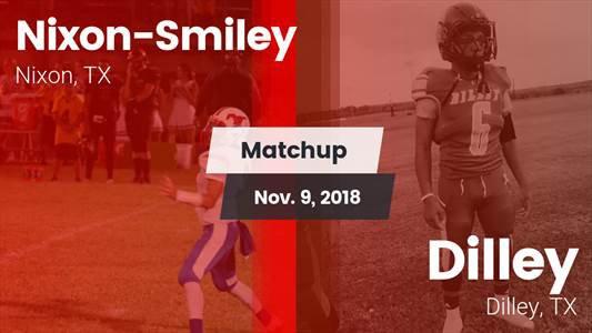 Football Game Recap: Dilley vs. Nixon-Smiley