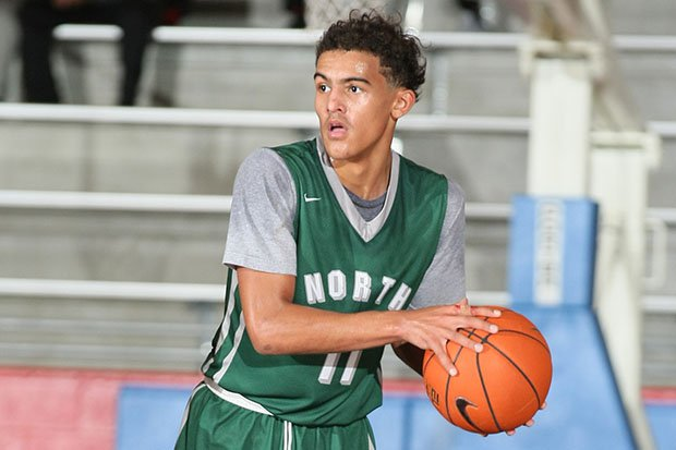 Atlanta Hawks star Trae Young poured in 42.6 points per game for Norman North (Okla.) in 2016-17.