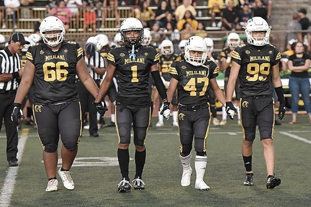 Teams like Mililani will have to wait until at least Sept. 24 to take the field.