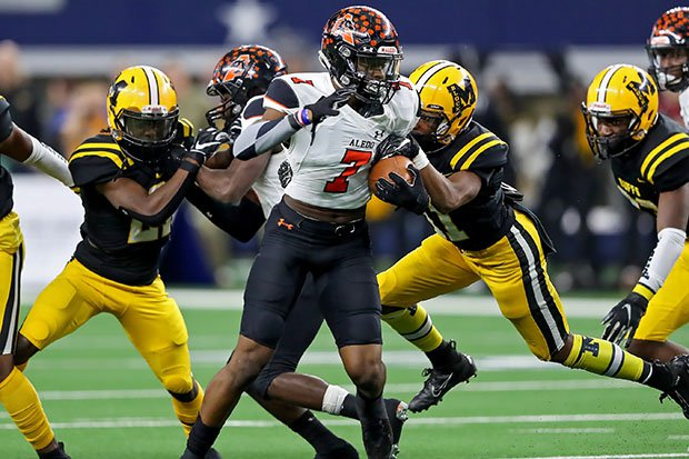 Bryan Allen Jr. racked up 122 tackles and three interceptions last fall for Texas state champion Aledo.