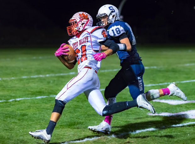 Hatch Valley's Saul Trujillo leads New Mexico in scoring and is second in rushing yards.