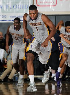 Dakari Johnson was a monster forMontverde Academy with 17 points, 17rebounds and seven blocks.