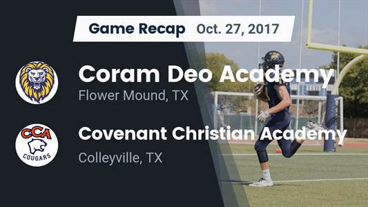 Football Game Preview: Covenant Christian vs. Legacy Prep Christian Academy