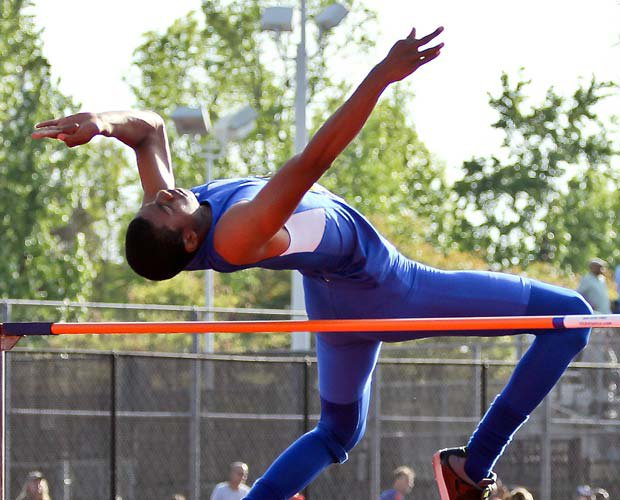 Cunningham Jr. set the state high jump record by clearing 7 feet, 3.25 inches.