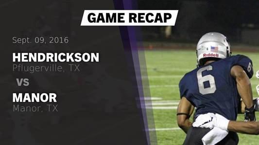 Football Game Preview: Hendrickson vs. Cedar Ridge