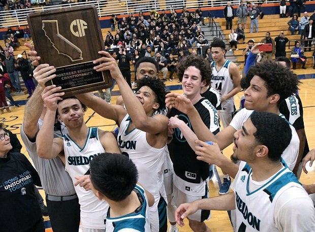 Sheldon after winning the NorCal Open Division final over Modesto Christian