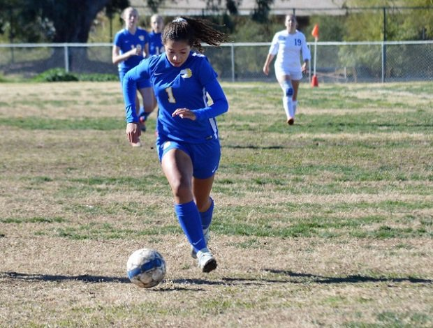 Kambria Cash has been playing soccer since she was 3 and is excelling on the pitch at Sahuarita High School, leading the team in goals during her sophomore season.