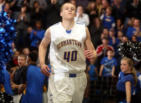 Luke Fischer led Germantown to another undefeated season, and he's Mr. Basketball for Wisconsin.