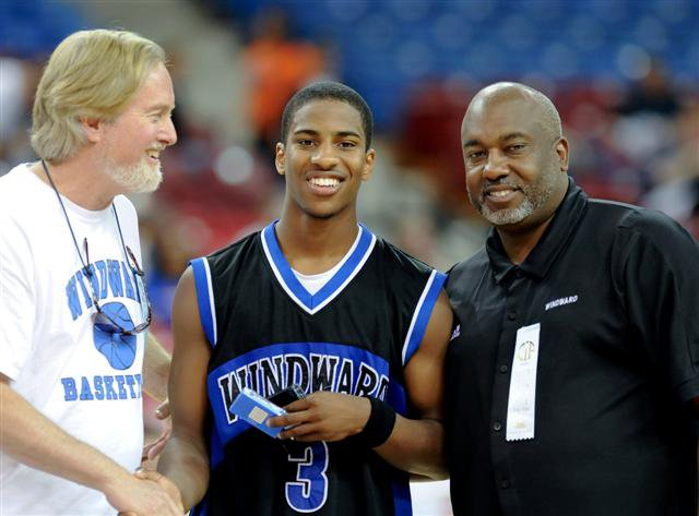 Malcolm Washington not only won a state title but one of the game's Sportsmanship Awards.