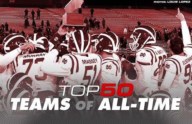 Top 50 Greatest High School Football Teams Of All Time Maxpreps