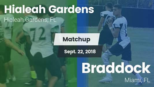 Football Game Recap: Braddock vs. Hialeah Gardens - MaxPreps