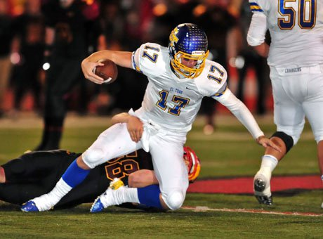 El Toro quarterback Conner Manning was harassed all night and threw six interceptions.