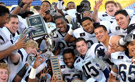 Good Counsel celebrates another WCAC crown.