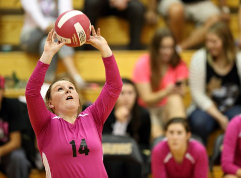 Setter Skylar Lane and Rock Canyon begin the 2016 atop the Class 5A volleyball rankings. The Jaguars also are ranked No. 50 in the MaxPreps national rankings.