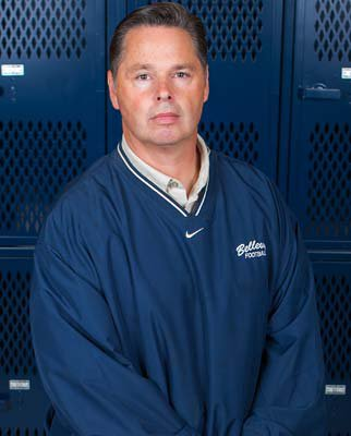 Coach Butch Goncharoff applied for the Orange Lutheranjob in California. He's back, and that's great for Bellevue.