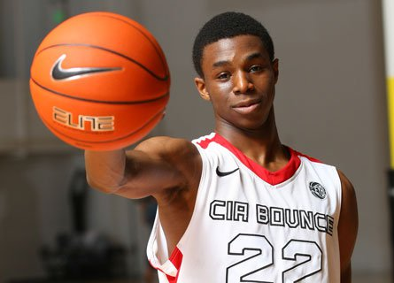 After making the move from his native Canada, Andrew Wiggins put up 23.9 points and 7.5 rebounds per game in his first season at Huntington Prep.