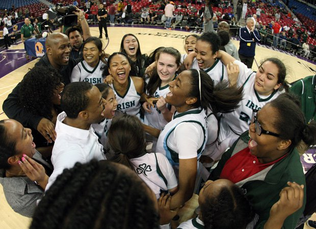 Sacred Heart Cathedral celebrates its fifth state championship.