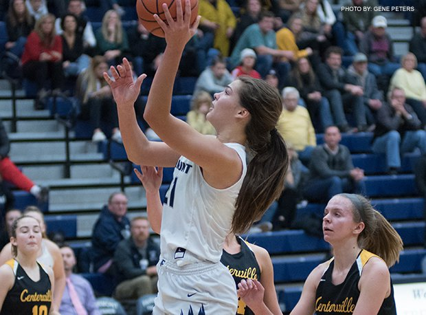Fairmont senior Maddy Westbeld finishes her career with 1,362 points, 968 rebounds, 269 assists, 218 blocks and 199 steals.