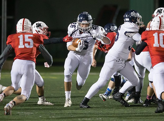 Oil City (Pa.) senior running back Noah Petro ran for 363 yards and scored five touchdowns last week in a 34-33 win over Meadville (Pa.).