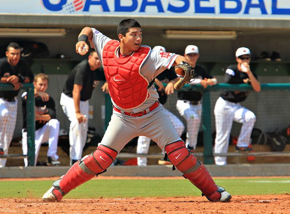 There were plenty of great catchers this season in high school baseball. Mater Dei's Jeremy Martinez certainly is in the elite class, as the National Junior of the Year also stars for Team USA.