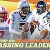 Top 100 single season passing yardage totals in high school football history