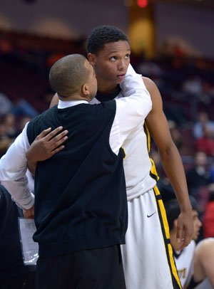 Ivan Rabb gets superb mentoring from coach Lou Richie.