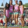 Not much separates St. Thomas Aquinas, Long Beach Poly girls track teams this season