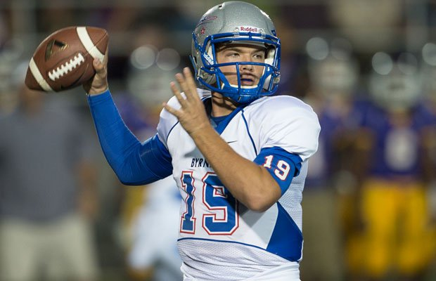Shuler Bentley leads the explosive Byrnes offense.