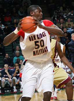 Nigerian Joseph Uchebo of Oak Ridge.