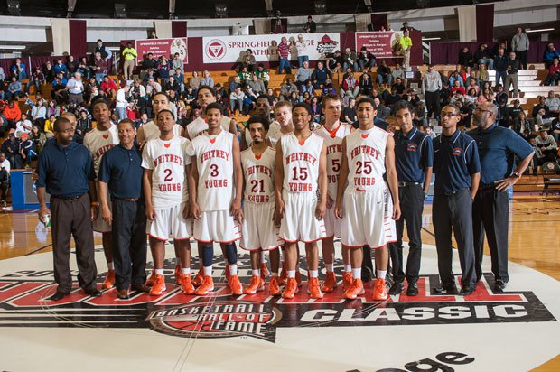 Whitney Young turned in a dominant performance on one of high school basketball's biggest stages Saturday at the Spalding Hoophall Classic.