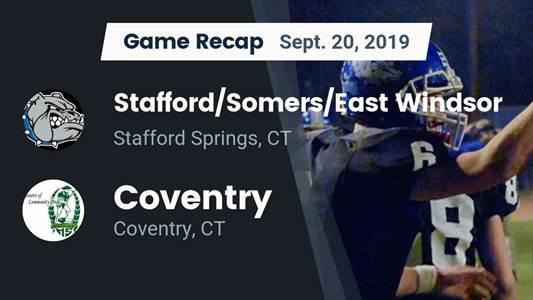 Football Game Preview: Granby Memorial/Canton vs. Coventry/Windham RVT/Bolton/Lyman Memorial - MaxPreps