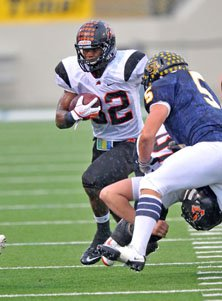 Johnathan Gray is the son of formerTexas Tech great James Gray.