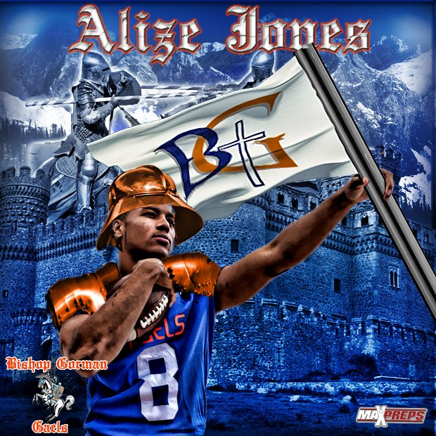 Alize Jones will be one of the players leading the way for the Gaels this season.