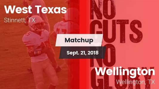 Football Game Recap: West Texas vs. Wellington
