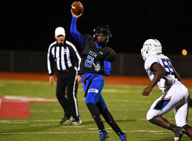 Shedeur Sanders led Trinity Christian to a state title as a freshman quarterback.
