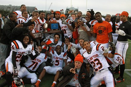 Clairton (Pa.) owns the nation's longest current football win streak at 47 games. That total beats Don Bosco Prep by one.