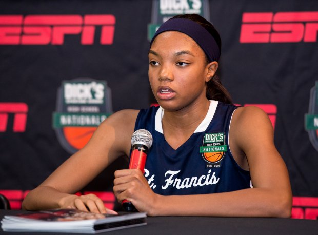 Maya Dodson of St. Francis (Alpharetta, Ga.) was one of just four rising seniors to make the cut in Colorado Springs.