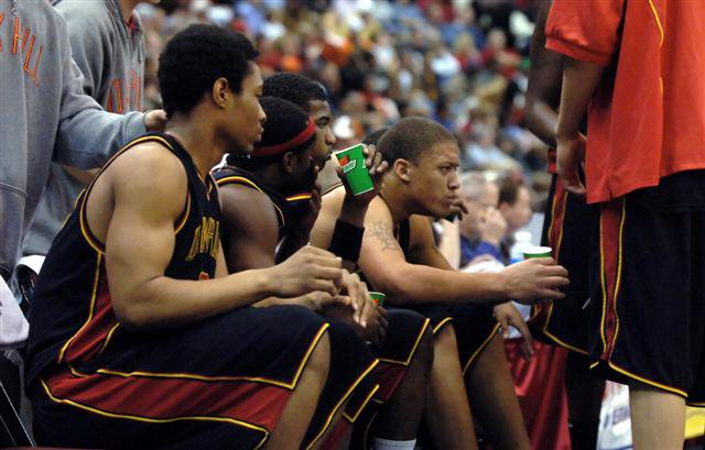 The 2006 Oak Hill Academy team featured both Michael Beasley and Tywon Lawson, but was not as dominant was the 2004 Warriors.
