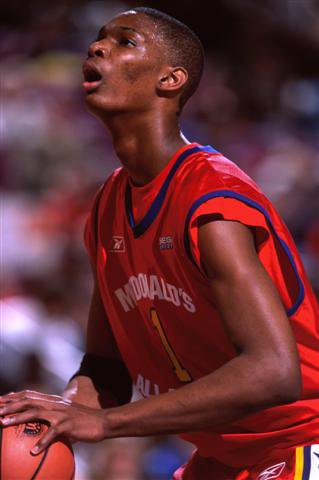 Raptors star Chris Bosh was one of two McDonald's  All-Americans on Lincoln's 2002 team.